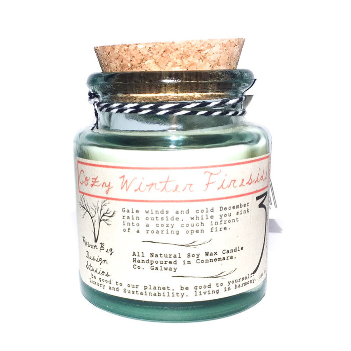 Cozy Winter Fireside Soy Wax Candle