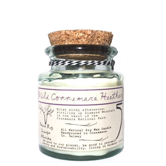 Wild Connemara Heather Soy Wax Candle