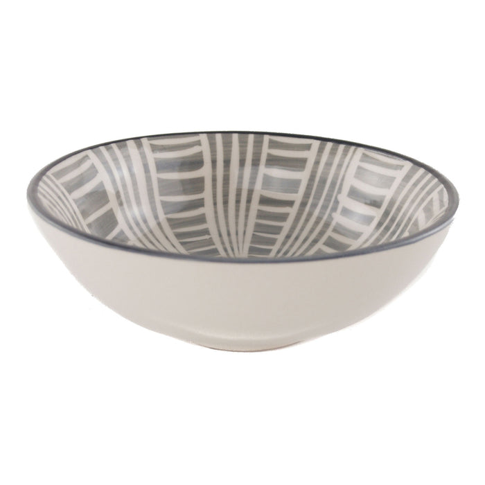 Modern Stripe Bowl