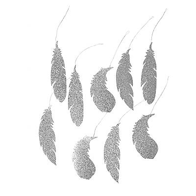 Broste 'Feather' Decorations