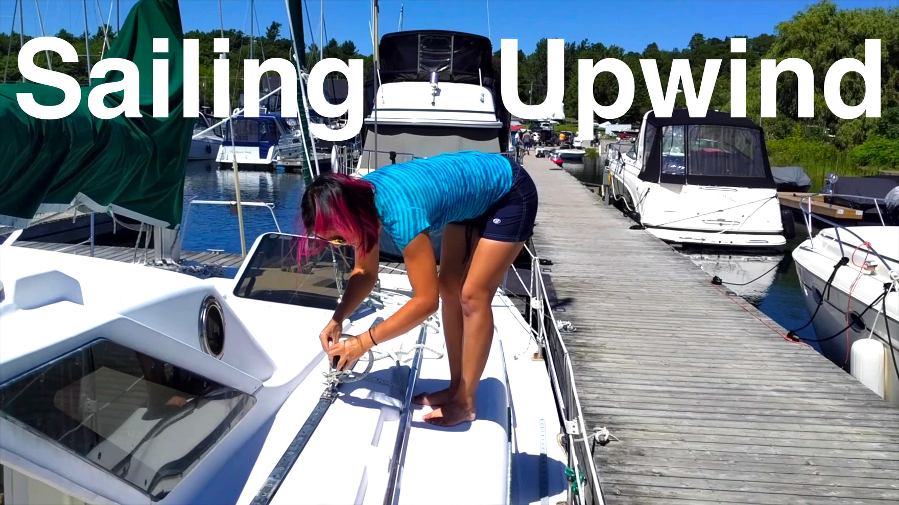 Episode 09 - Learning to Sail Upwind on a Catamaran