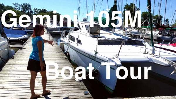 Episode 11 - Gemini 105M Boat Tour