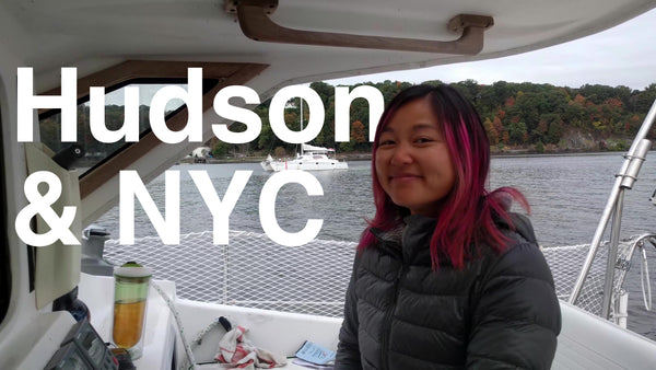 Episode 17 - Sailing down the Hudson towards New York City