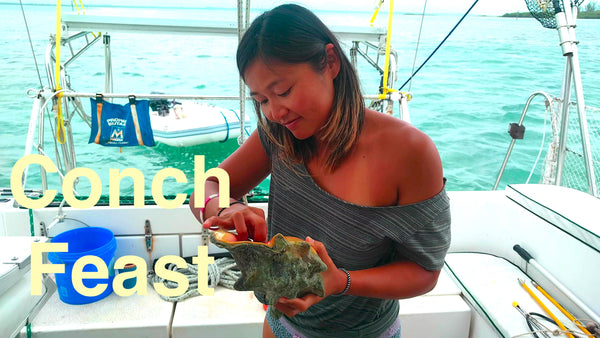 Episode 35 - Conch Feast in Spanish Wells, Bahamas