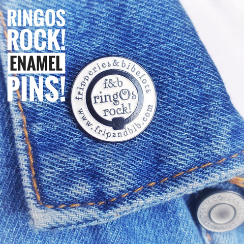 ringOs rock! Enamel Pin