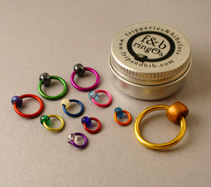 ringOs Allsorts - Snag-Free Ring Stitch Markers for Knitting