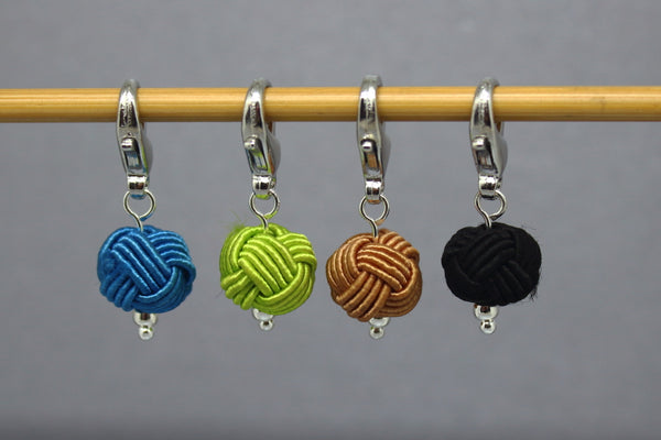 Little Balls of Wool Stitch Markers for Knitting and Crochet
