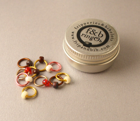 ringOs Biscuit Jar ~ Snag Free Ring Stitch Markers for Knitting