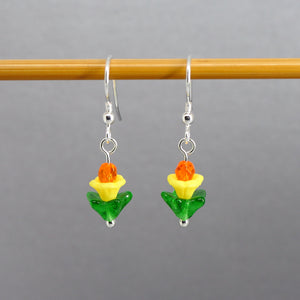 Waiting for Daffodils Earrings