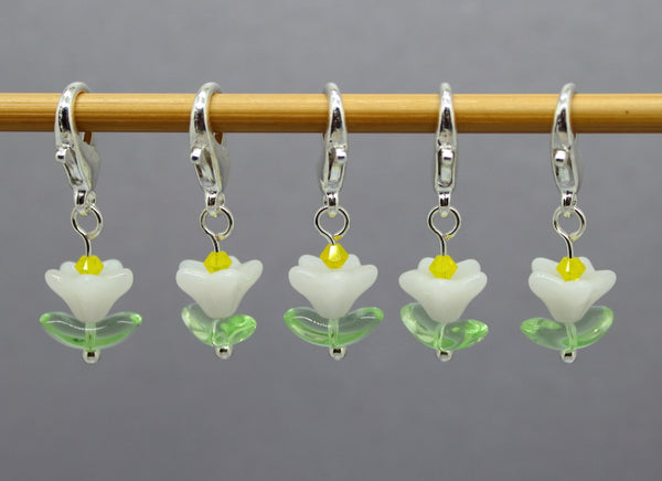 Daisy Chain Stitch Markers for Knitting and Crochet