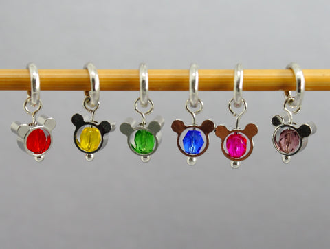 Dinky Things Stitch Markers for Knitting