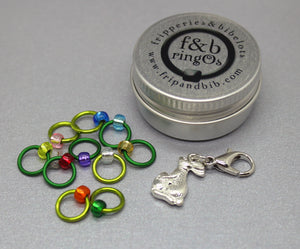 ringOs Easter Egg Hunt ~ Easter Limited Edition Snag Free Ring Stitch Markers for Knitting