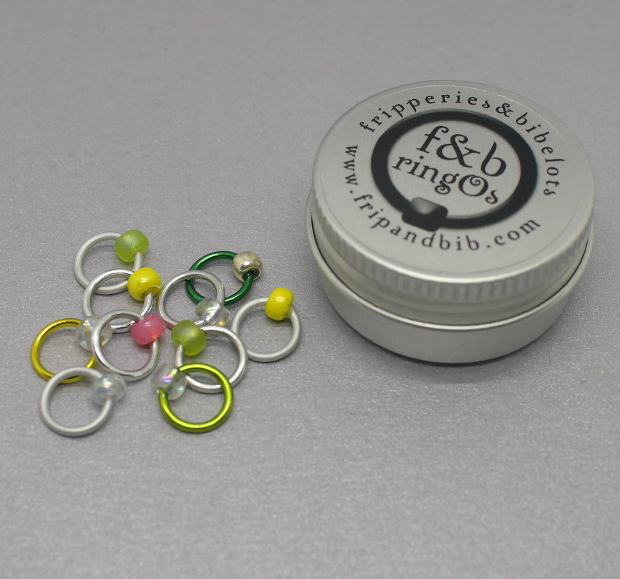 ringOs G & T ~ Snag Free Ring Stitch Markers for Knitting