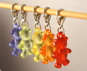 Gummy Bear Stitch Markers for Crochet