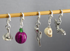 Halloween Party Stitch Markers for Crochet LIMITED EDITION