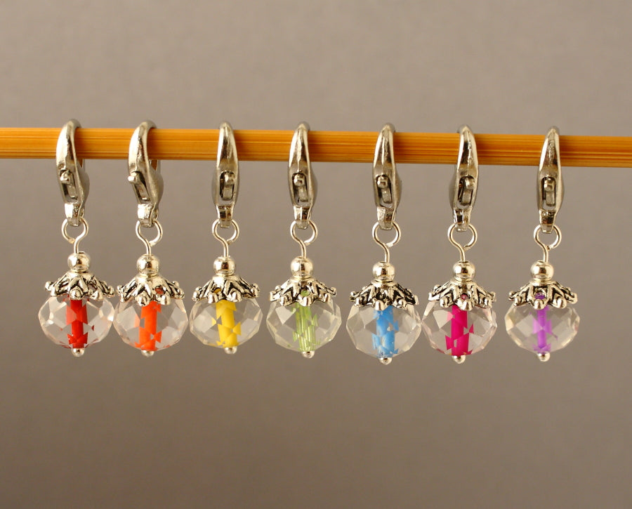 Inner Glow Stitch Markers for Crochet