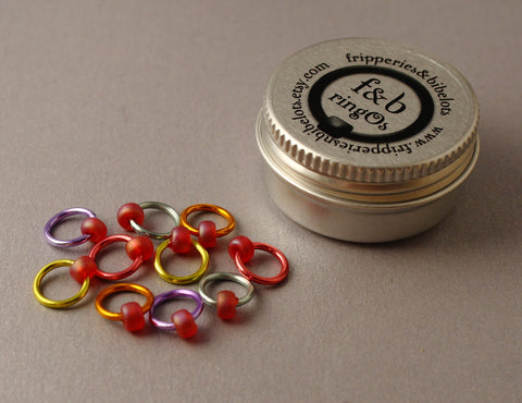 ringOs Love Hearts ~ Snag Free Ring Stitch Markers for Knitting