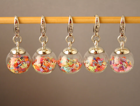 We Are All Made of Stars Stitch Markers for Crochet