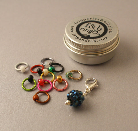 ringOs Monster Mash ~ LIMITED EDITION ~ Snag Free Ring Stitch Markers for Knitting