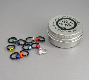 ringOs New Year ~ Limited Edition Snag Free Ring Stitch Markers for Knitting