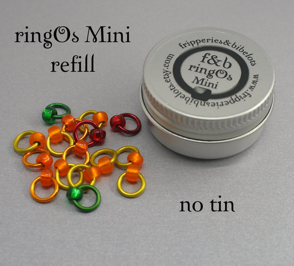 ringOs Mini Rubber Ducky - Snag-Free Ring Stitch Markers for Sock Knitting