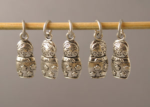 Russian Doll Stitch Markers for Crochet