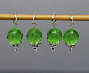 Wind-Free Sprouts Stitch Markers for Knitting and Crochet