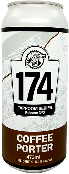 COFFEE PORTER - 174 Taproom Series - 473mL