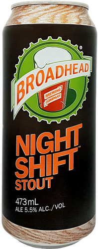 NIGHT SHIFT - Oatmeal Stout - 473mL