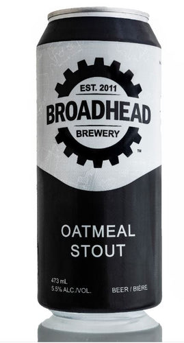 OATMEAL - STOUT - 473mL