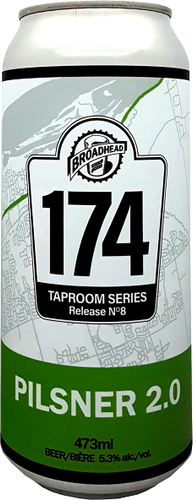 PILSNER - 174 Taproom Series - 473mL