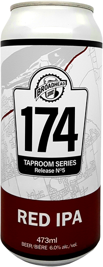 RED IPA - 174 Taproom Series - 473mL