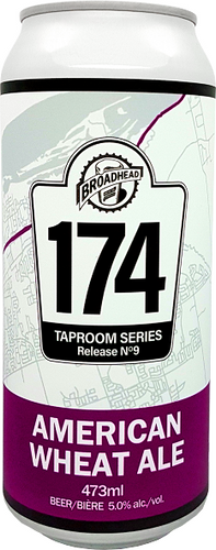 AMERICAN WHEAT ALE - 174 Taproom Series - 473mL