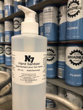 Hand Sanitizer by North of 7 Distillery