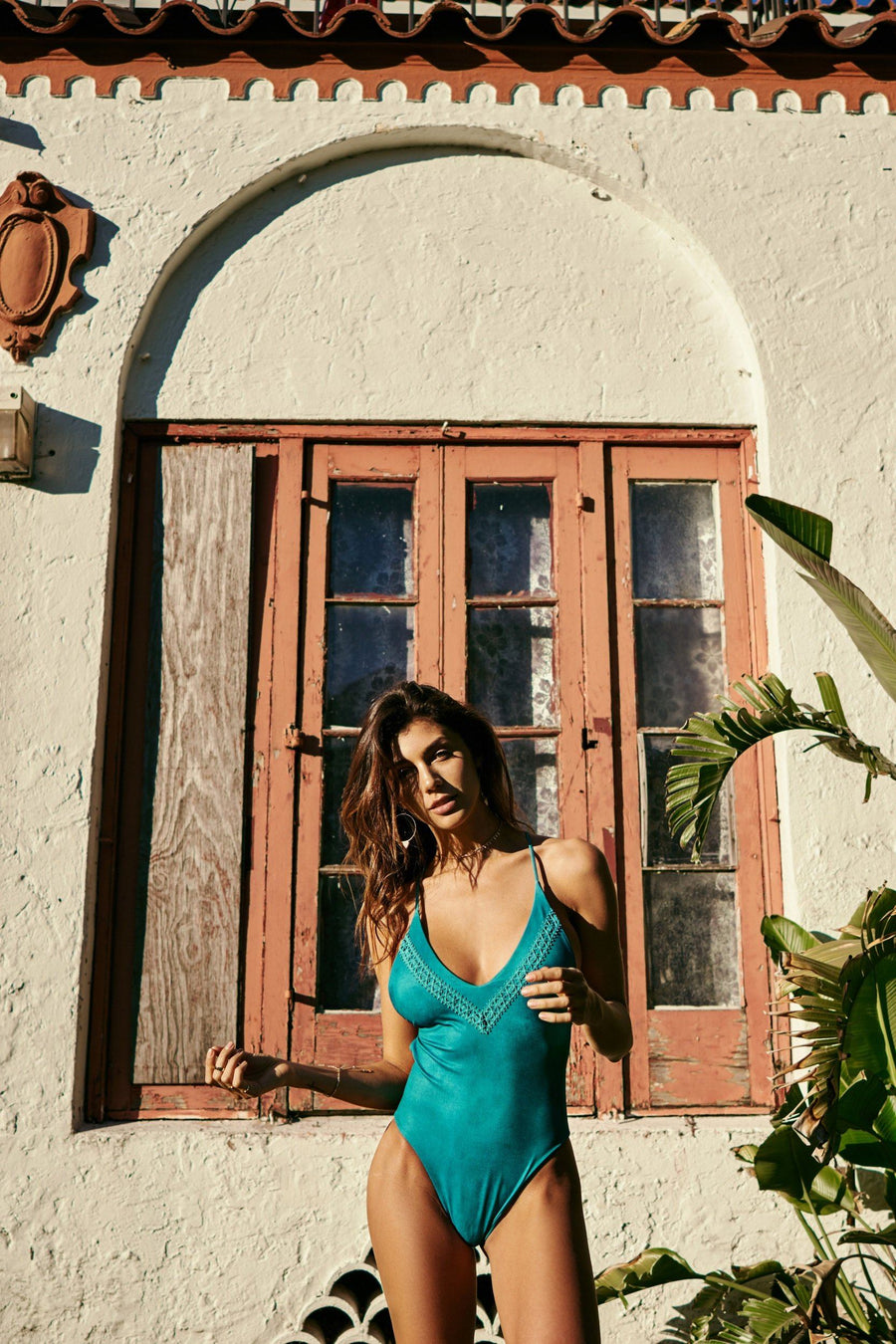 SOAH MARLEY ONE PIECE TURQUOISE