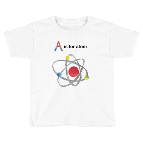 A is For Atom Kids Short Sleeve T-Shirt