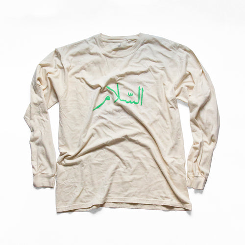 PEACE LONG SLEEVE - IVORY