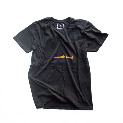 Nomads Land Tee - Black