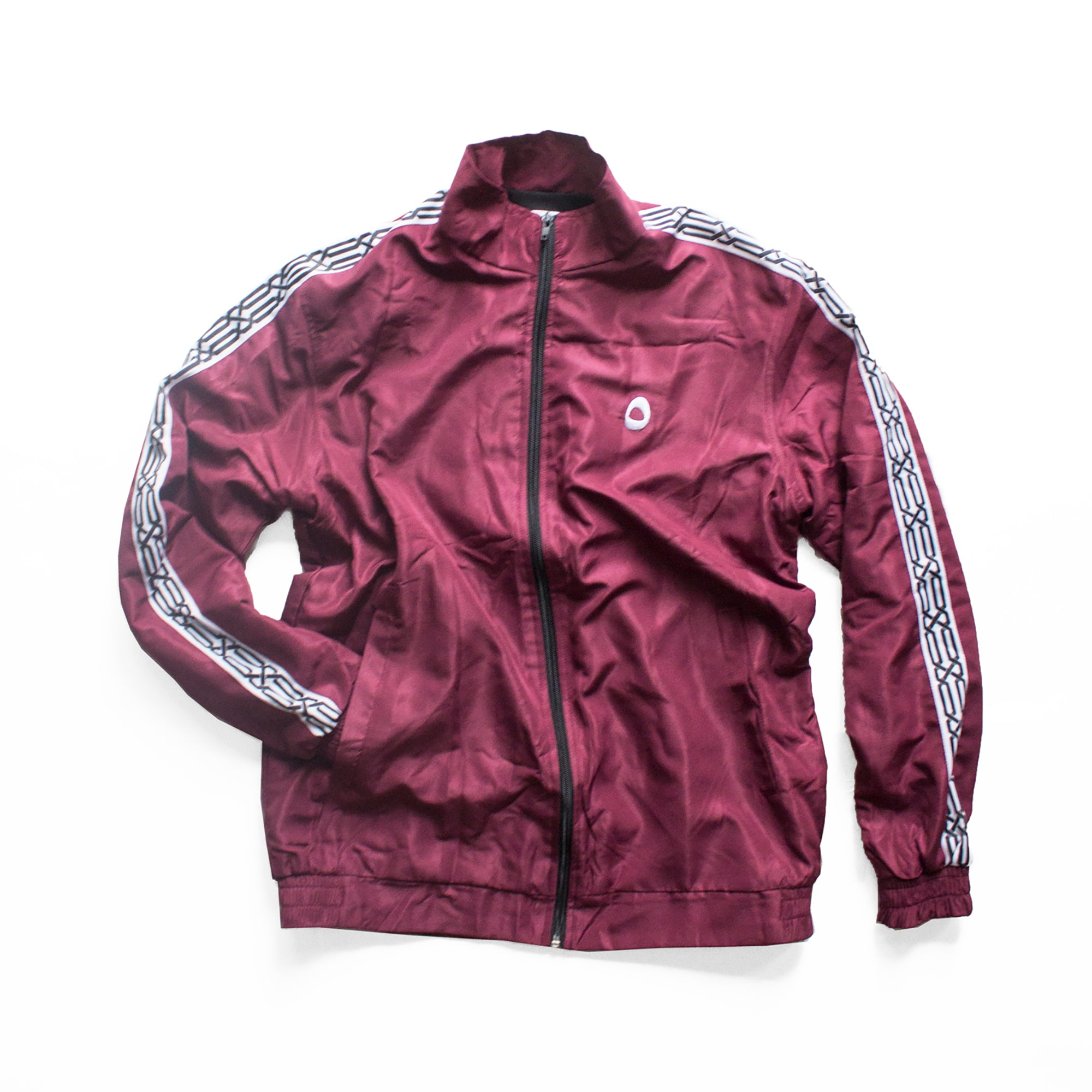 Logo Tracksuit Top - Maroon
