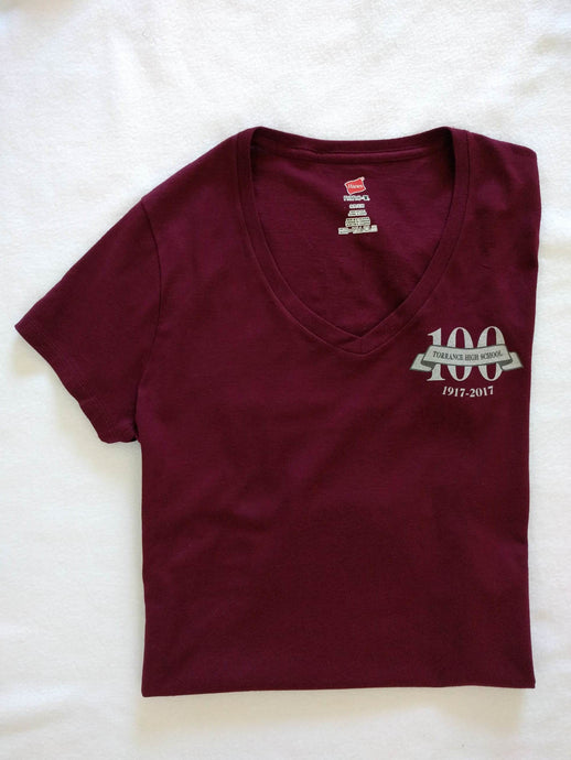 Centennial Women's V-Neck Shirt