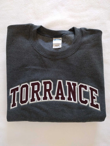 Torrance High Gray Crew Sweatshirt
