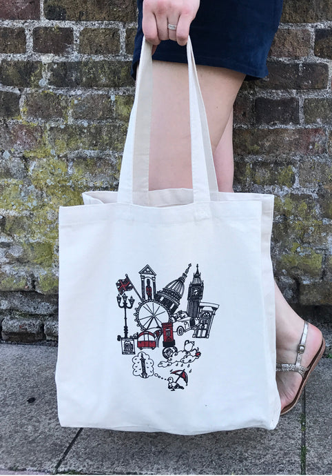 London Canvas Bag
