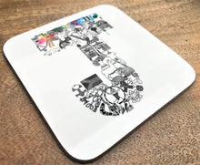 Individual Letter Coaster