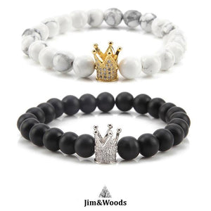 Bracelet Distance King argent Queen Or
