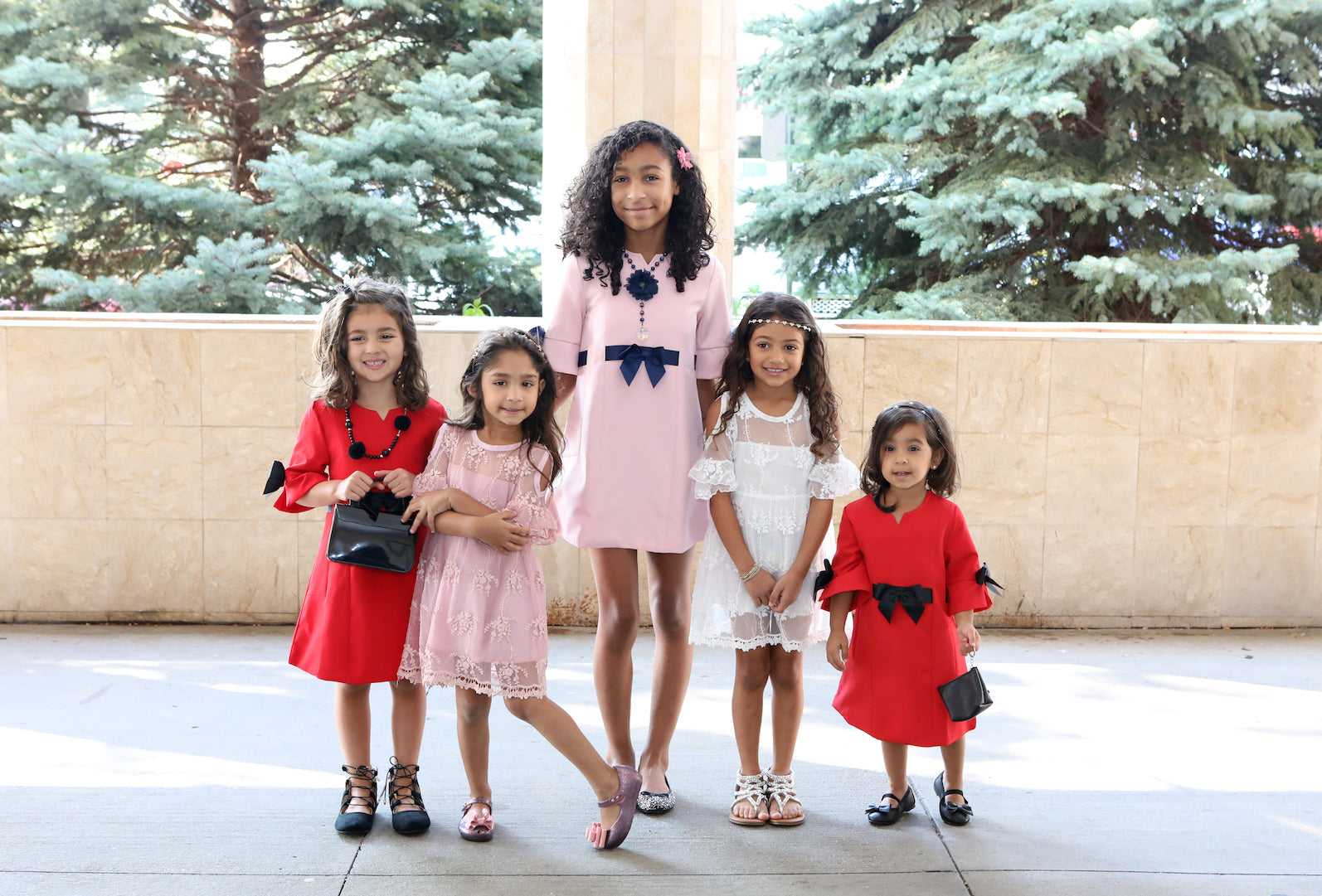 Trendy Little Girl Dresses