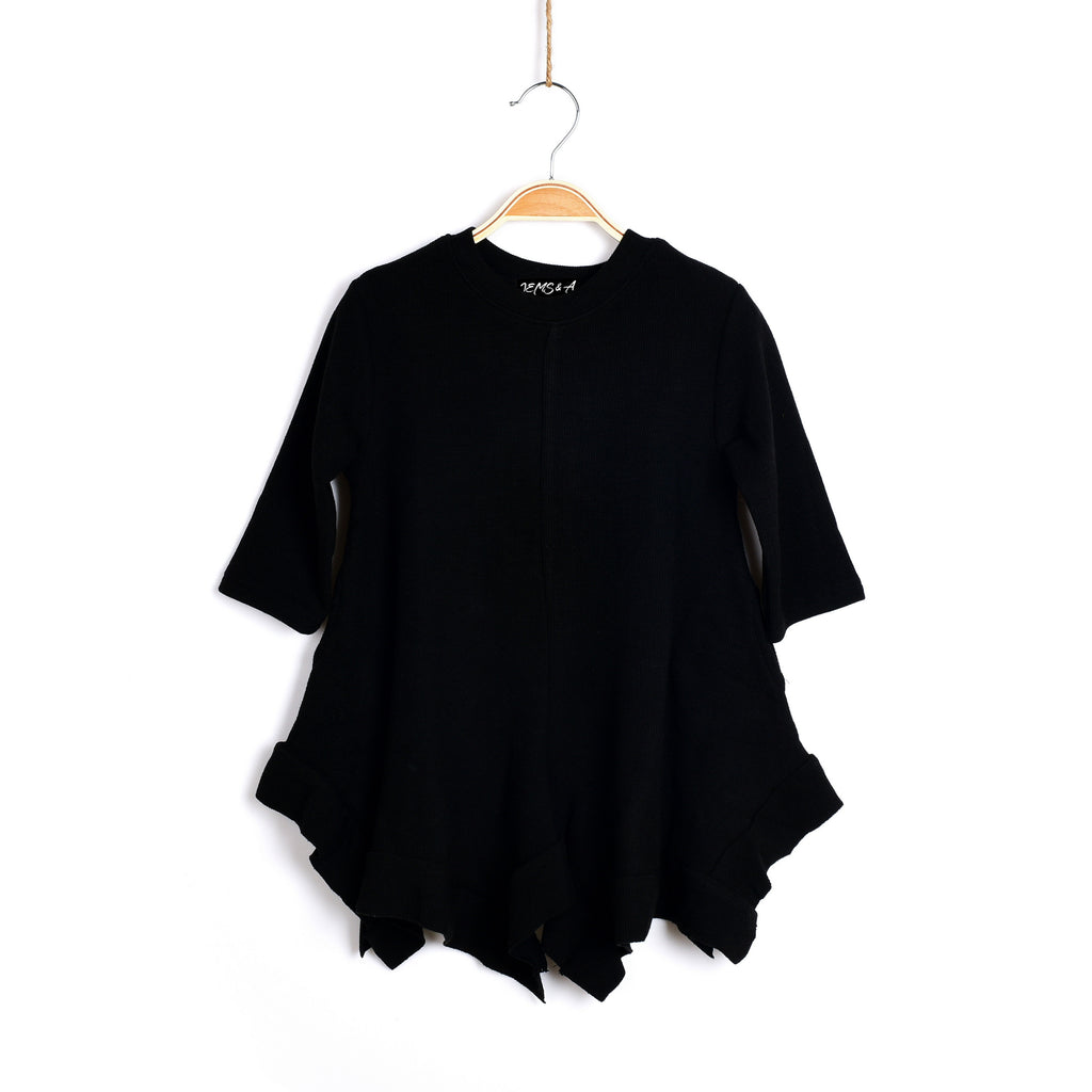 Maybe Today Black Tunic