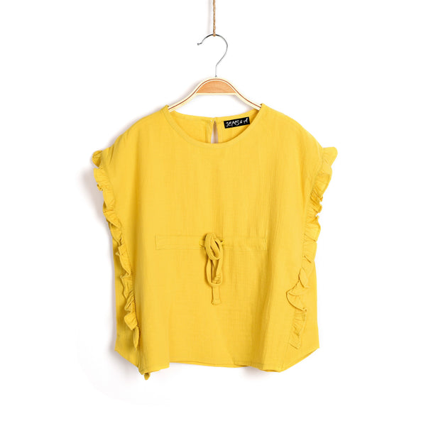 Hold the Mustard Top - Yellow