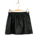 Night Out Mini Leather Skirt