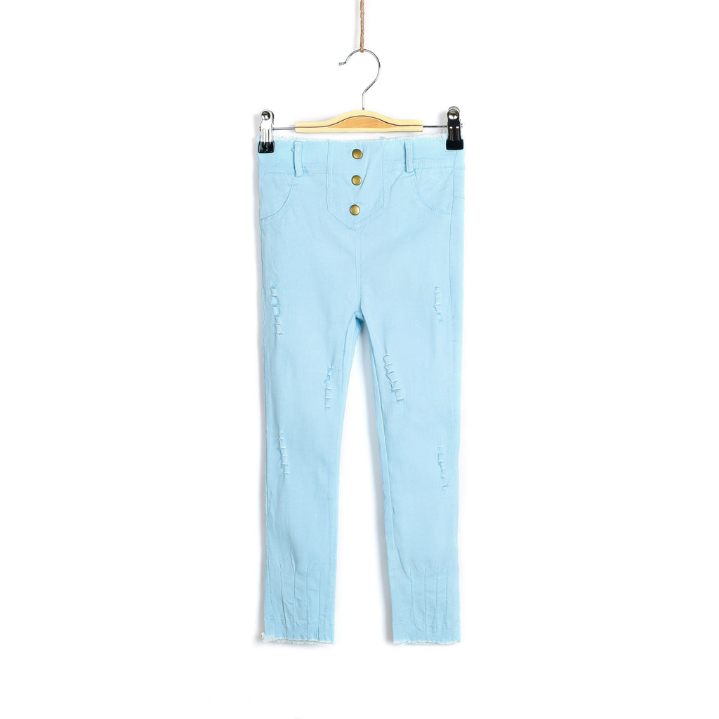 Trendy Savvy Light Wash Jeans - Light Blue