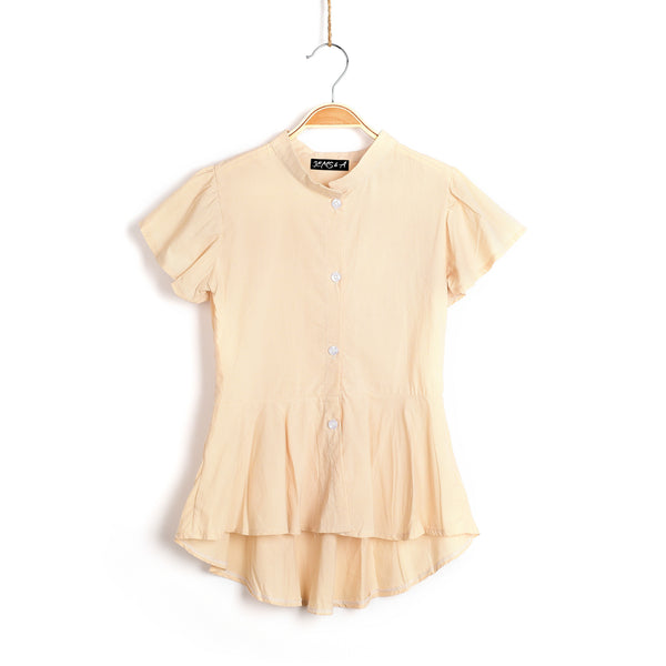 Ariel Summer Blouse- Sand
